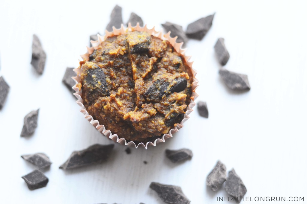 Pumpkin Chocolate Chunk Muffins Recipe — Dishmaps