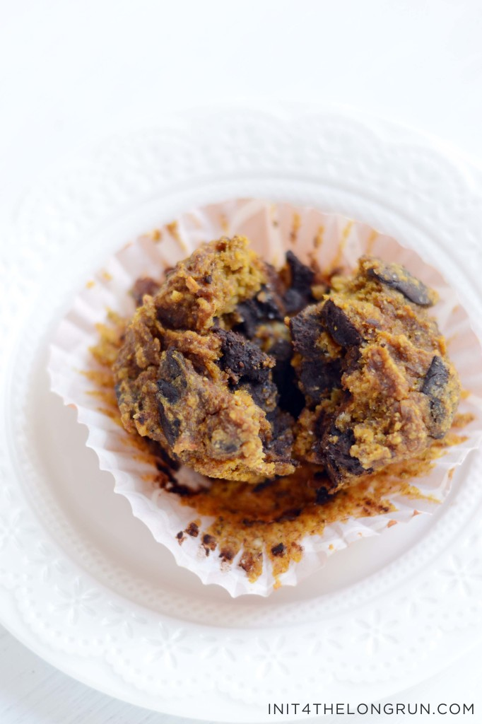 Chocolate Chunk Pumpkin Muffins