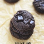 Double Chocolate Chunk Almond Butter Cookies {Grain-Free}