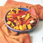 Garlic Roasted Peppers and Butternut Squash