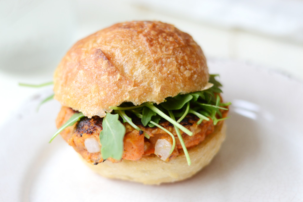 These Chipotle Sweet Potato Tuna Burgers are sweet, smoky, and the ...