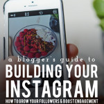 A Blogger's Guide to Building Your Instagram: Part 2
