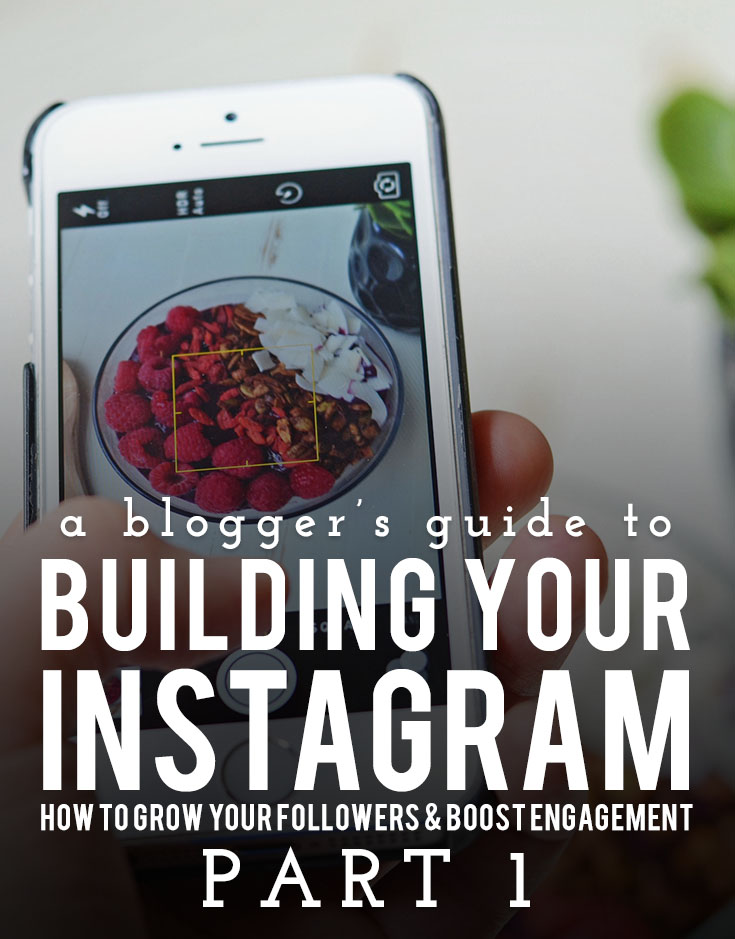 A Blogger's Guide to Building Your Instagram: Part 1 - All the tips and tricks no one tells you.