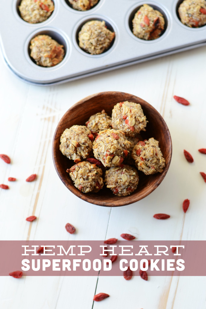 hemp heart superfood cookie