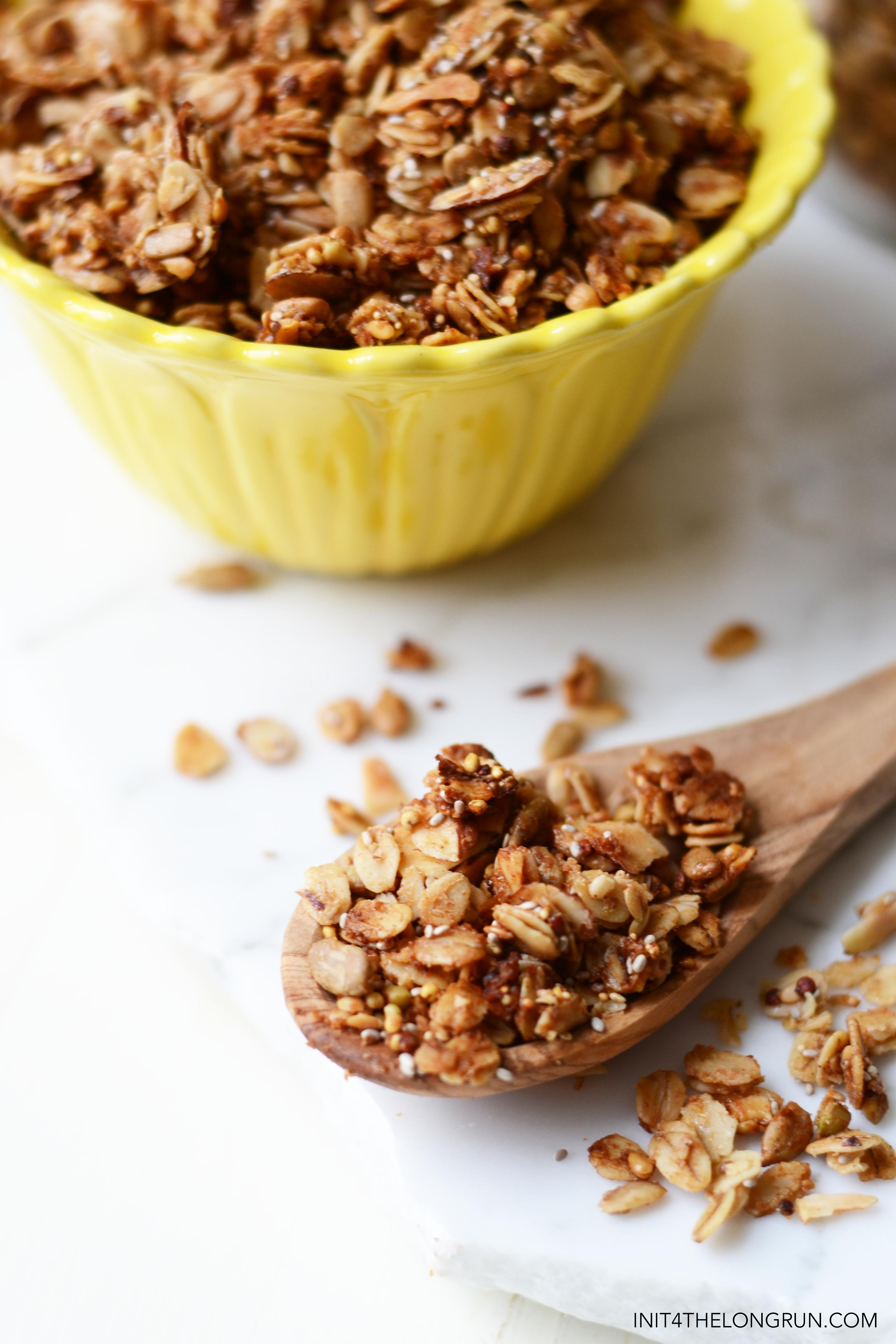 Extra Crunchy Super Seed Granola