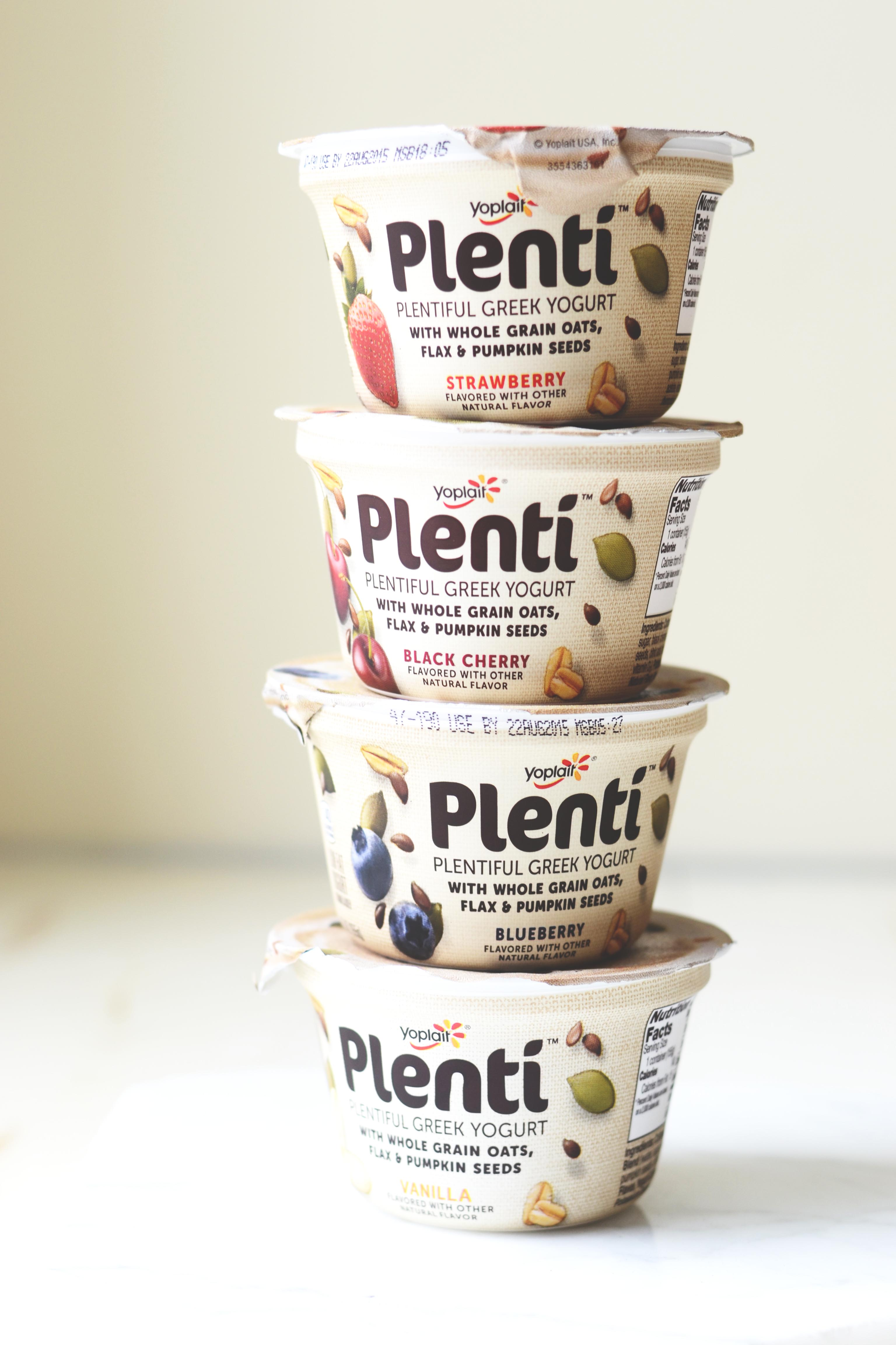upgrade your yogurt game with plentí in it for the long run
