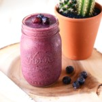Blueberry Razz Ginger Smoothie
