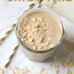 Oatmeal Cookie Dough Smoothie
