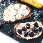 4 Creative Toasts for (Healthy) Lazy Meals