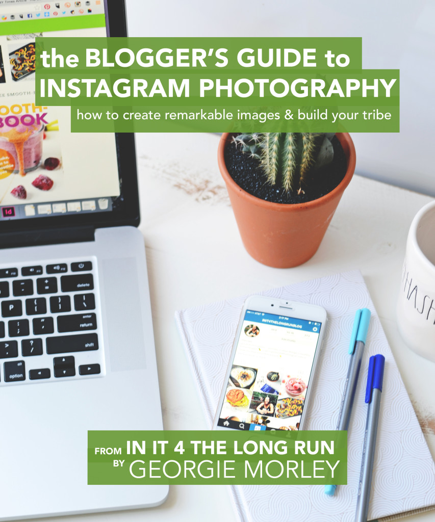 Build your blog's tribe by creating remarkable images on Instagram. I'll teach you exactly how in: The Blogger's Guide to Instagram Photography.