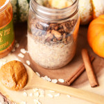 Pumpkin Pie Cookie Butter Overnight Oats