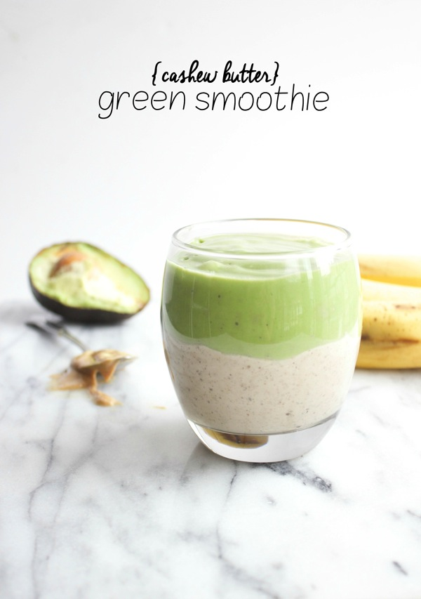 Cashew-Butter-Green-Smoothie