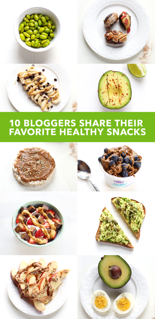 10 Bloggers Share Their Favorite Healthy Snacks