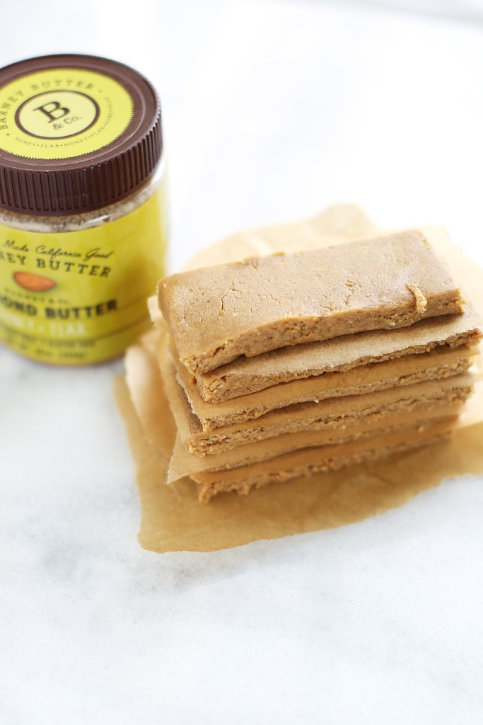Save yourself some money and the stress of finding a healthy protein bar with these scrumptious Honey Flax Almond Butter Protein Bars.