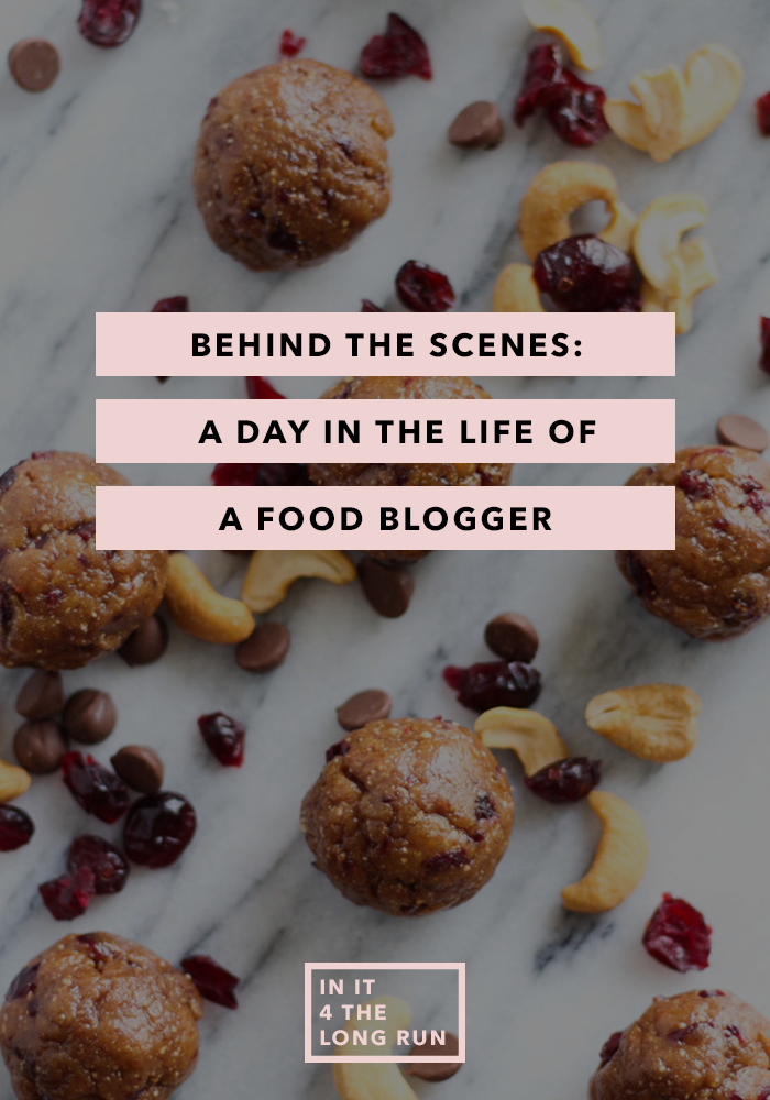 Day in the Life of Food Blogger