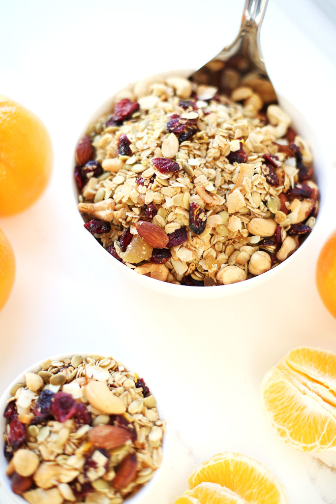 Orange Ginger Granola