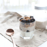 Simple Chia Pudding Parfait