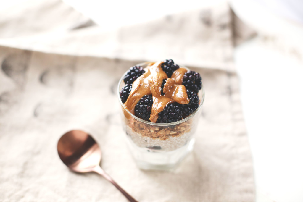 Simple Chia Pudding Parfait - init4thelongrun.com