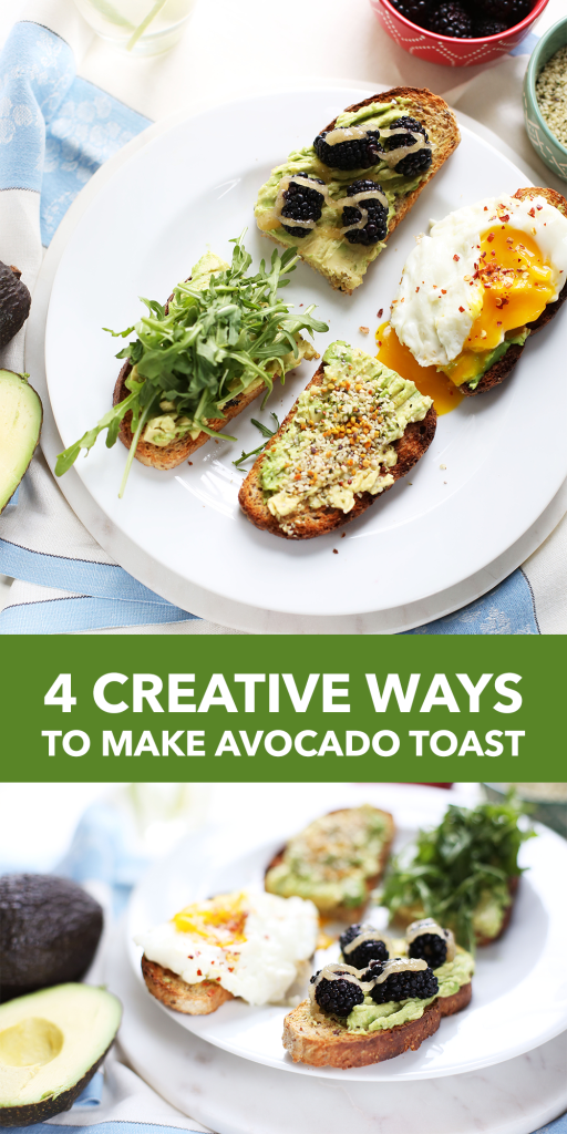 4 Creative Ways to Make Avocado Toast