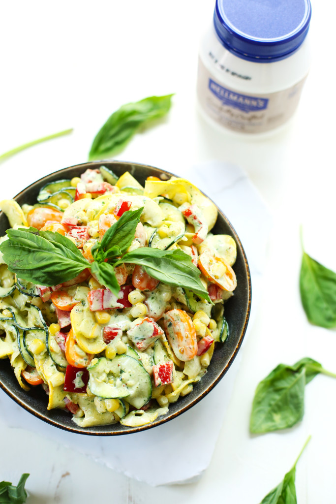 Creamy Basil Zoodle Salad3