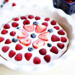 Vegan Fruit Pizza with Graham Cracker Crust