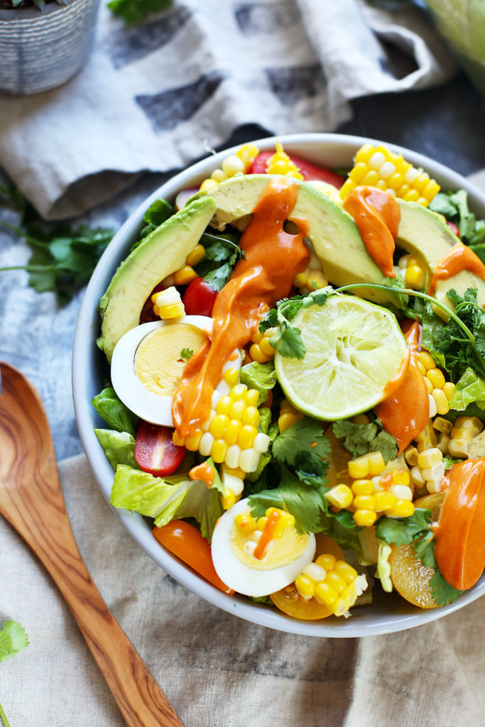 Southwestern Grilled Corn Salad | In it for the Long Run