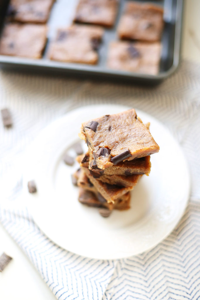 Vegan Cookie Dough Bars7