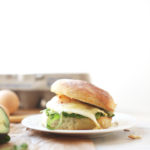 Cheddar Avocado Breakfast Sandwich