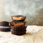 4-Ingredient Vegan Almond Butter Cups