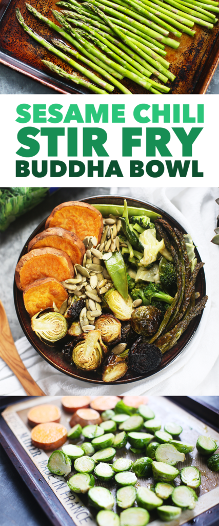 Sesame Chili Stir Fry Buddha Bowl