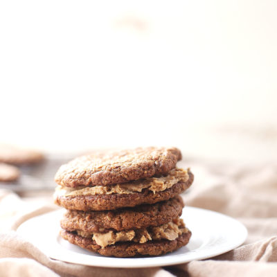 Flourless Almond Butter Sandwich Cookies