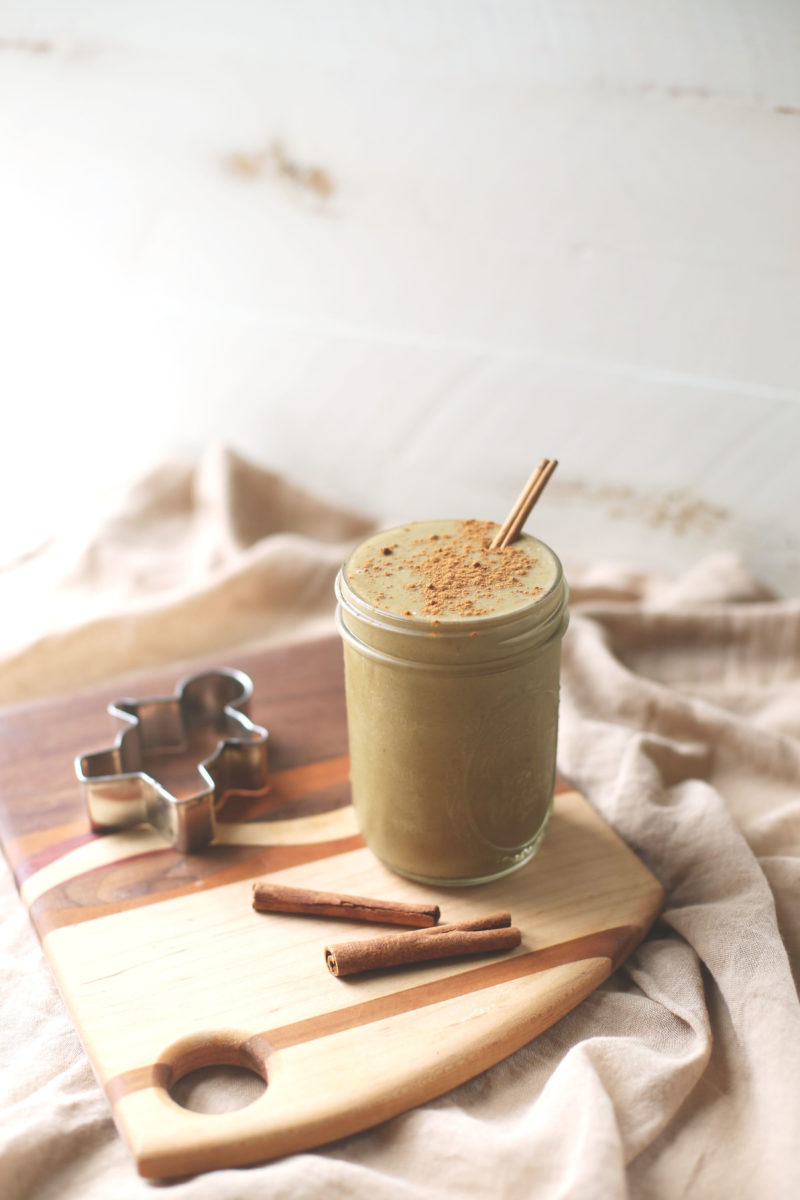 Chai Gingerbread Smoothie - Vegan, Gluten free