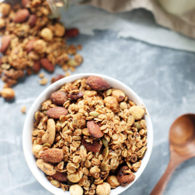 Go-to Homemade Granola – Vegan & Gluten-Free