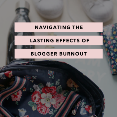 Navigating the Lasting Effects of Blogger Burnout