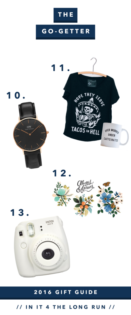 Gift Guide for the Stylish Yogis, Wellness Junkies and Go Getters