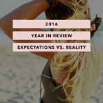 2016 Year in Review – Expectations vs. Reality