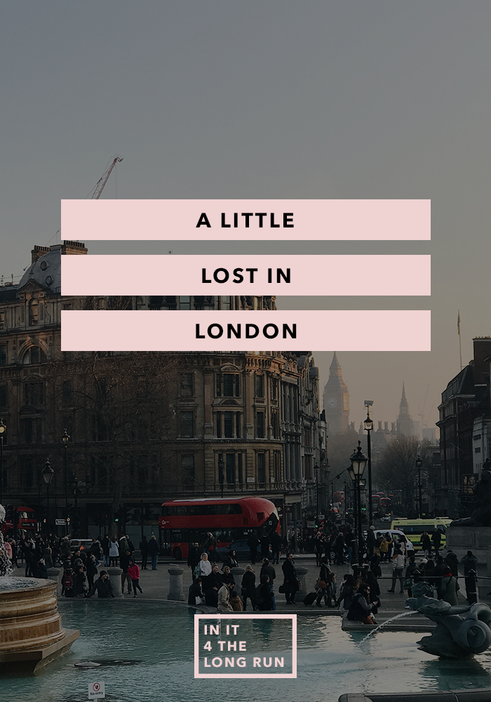 A little Lost in London