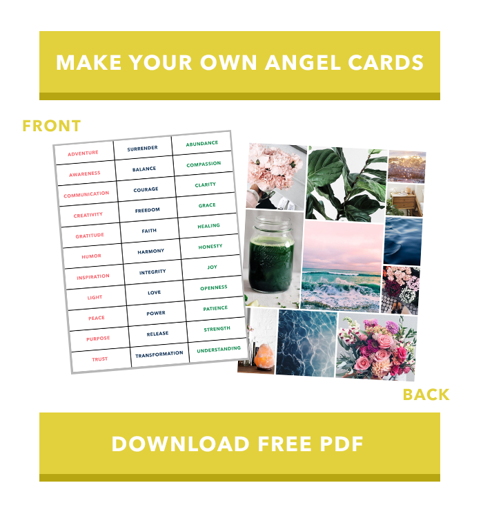 Why I'm Obsessed with Angel Cards and How to Make Your Own