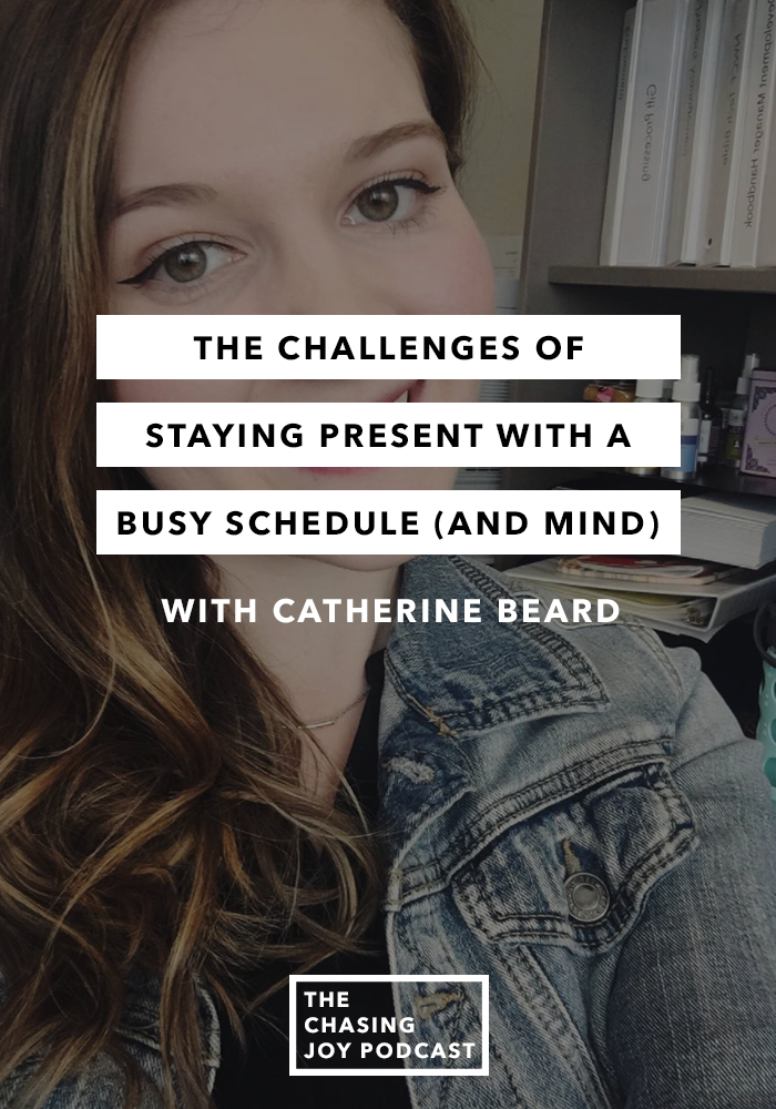 The Challenges of Staying Present with a Busy Schedule (and Mind)