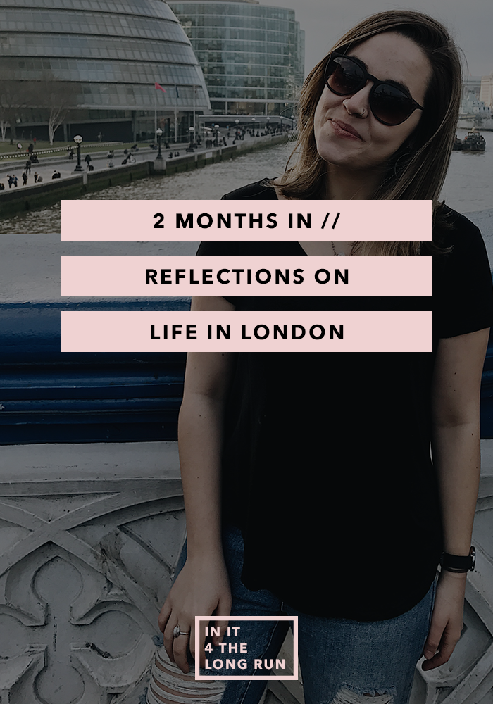 2 Months In - Reflections on Life in London