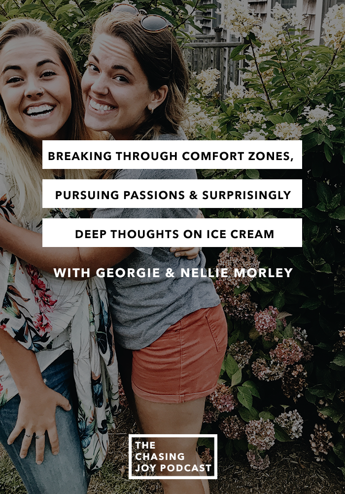 Breaking through comfort zones, pursuing passions & surprisingly deep thoughts on ice cream - Q&A Episode