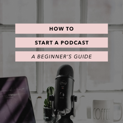 How to Start a Podcast – a Beginner's Guide