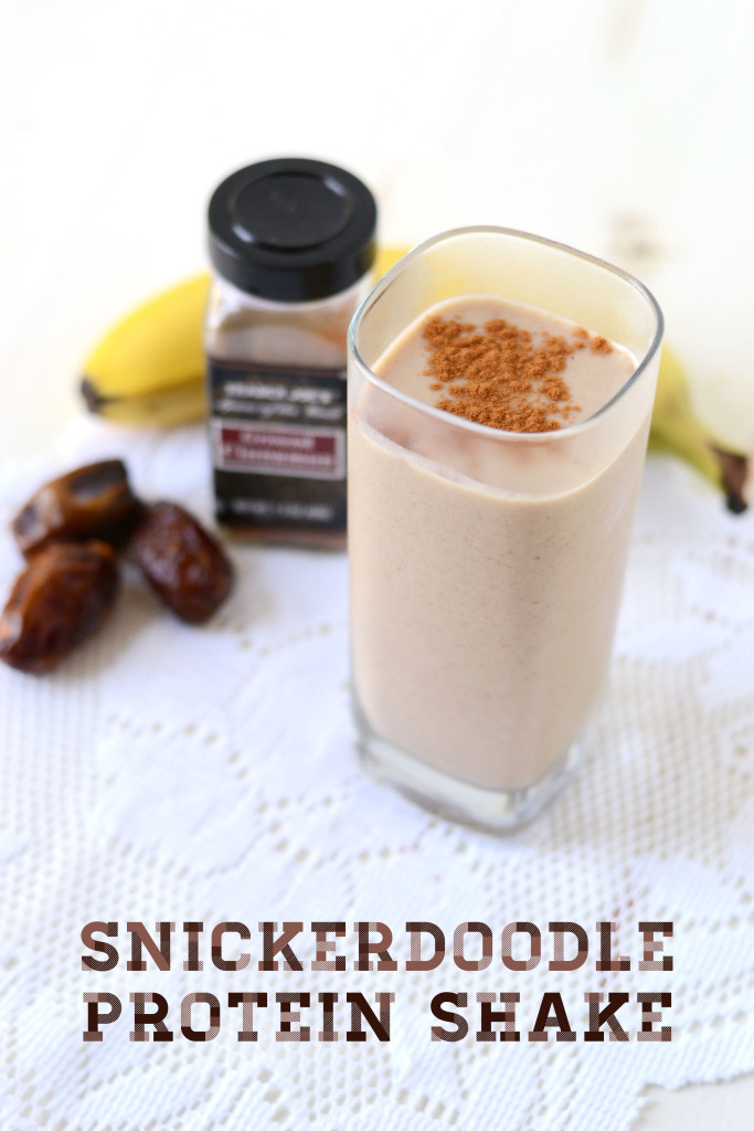 protein shake for breakfast snickerdoodle protein shake 30834